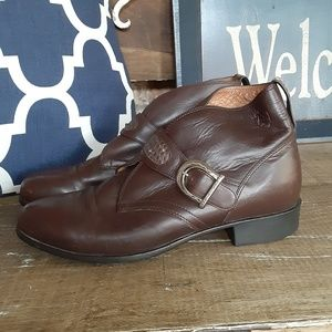 Ariat buckle Ankle Boots